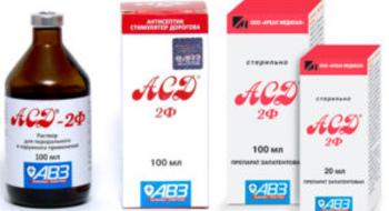 АСД-2 фракция при миоме матки эффективно ли лечение и как ее принимать (отзывы)