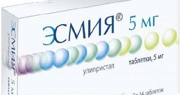 Таблетки от миомы матки эсмия отзывы